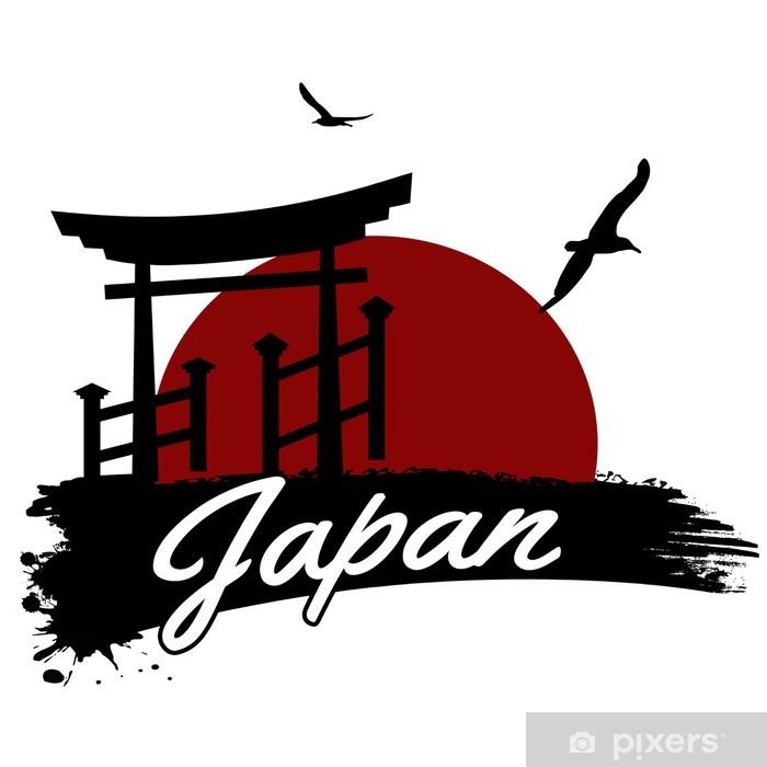Plakat Japonia plakat - Tła