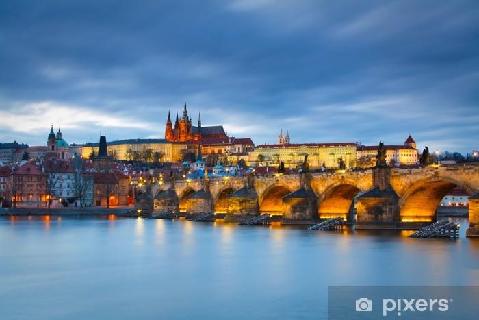 Fotomural Estándar Castillo de Praga, República Checa - Praga