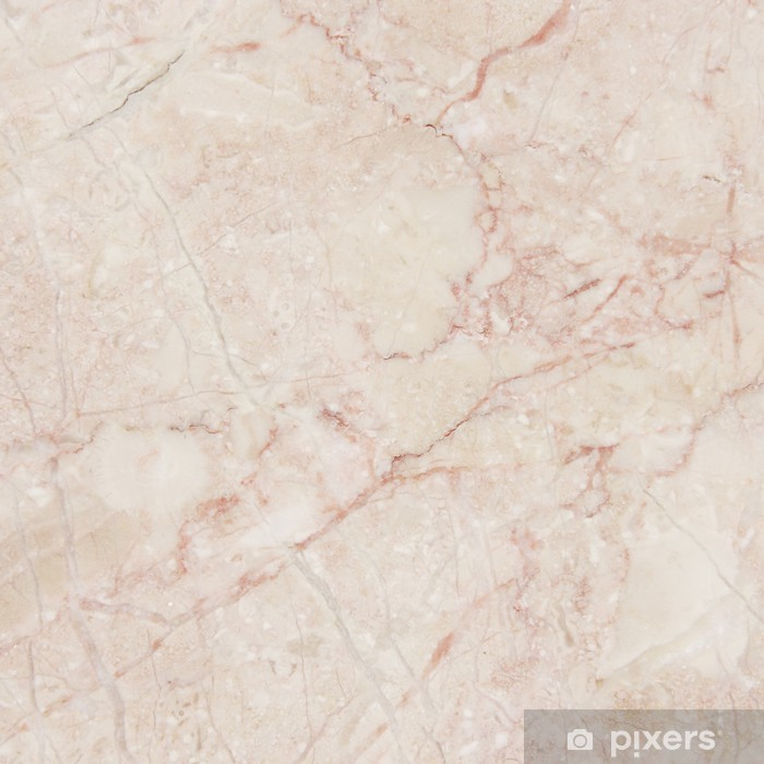 Vaaleanpunainen marmori. Pixerstick tarra - Koostumus