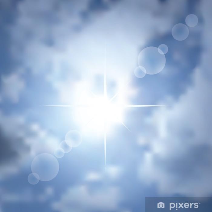 Poster Fond star sun - Autres sentiments