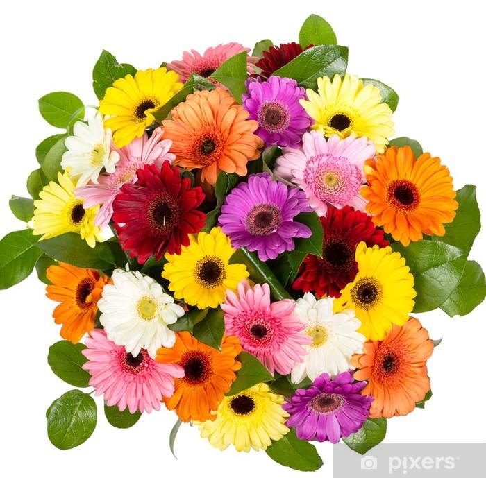 Poster Bouquet de gerberas - Fleurs