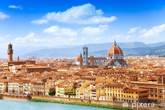 Papier peint vinyle Paysage urbain de Florence - Thèmes
