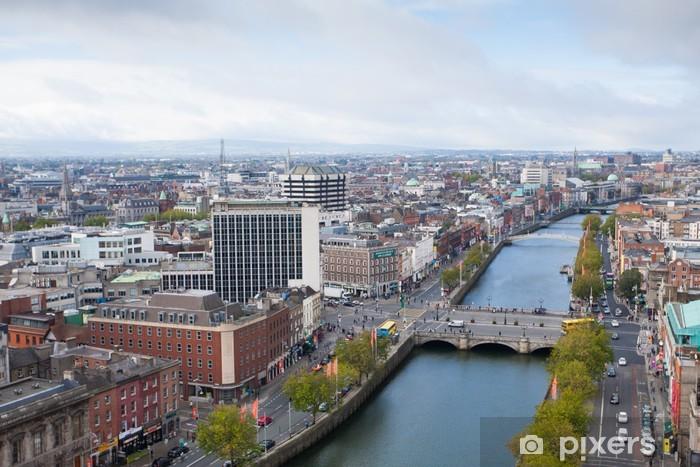 Fotomural Autoadhesivo Dublin skyline - Europa