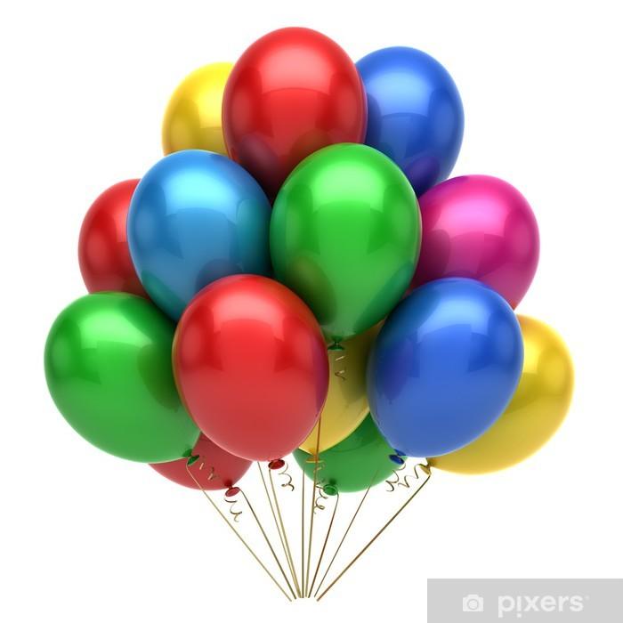 Vinyl Fotobehang Balloons - Amusement
