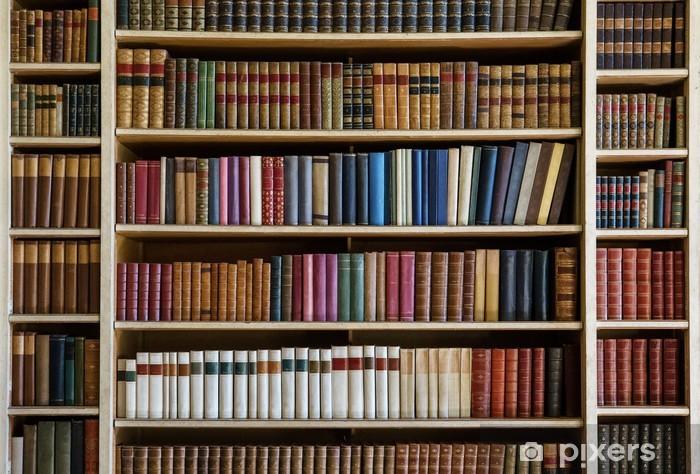 Papier peint vinyle Livres ancien - Bibliothèque