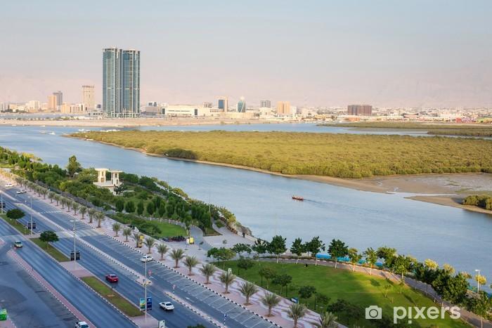 Vinyl Fotobehang Mangroven in Ras Al Khaimah Verenigde Arabische Emiraten - Vakantie