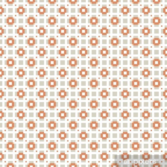 Poster Vektor nahtlose Muster. Wiederholenden geometrischen Fliesen mit Quadraten - Sales
