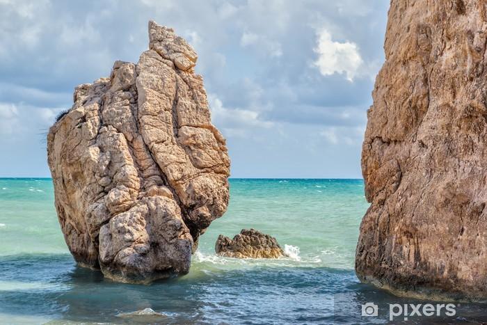 Nálepka Pixerstick Skále na pláži Petra tou Romiou - Evropa