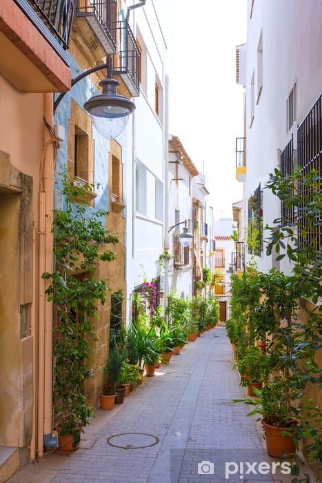 Fototapeta winylowa Jávea Xàbia uliczki miasto w Hiszpanii w Alicante - Tematy
