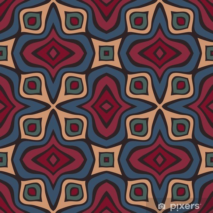 Seamless pattern Pixerstick Sticker - Backgrounds