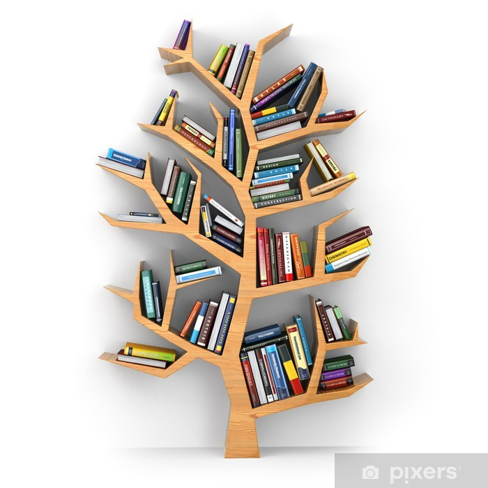Fototapeta zmywalna Drzewo poznania. - Styl życia