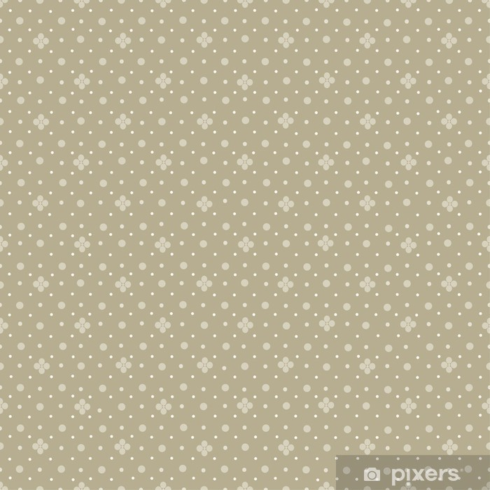 Vinylová fototapeta Abstrakt bezešvé polka dot pattern - Vinylová fototapeta
