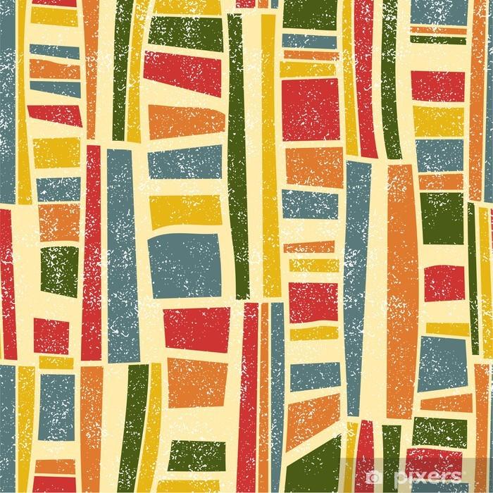 Vinyl-Fototapete Absract nahtlose Muster. Vektor-Illustration - Hintergründe