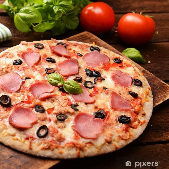 Papier peint vinyle Pizzas - Thèmes