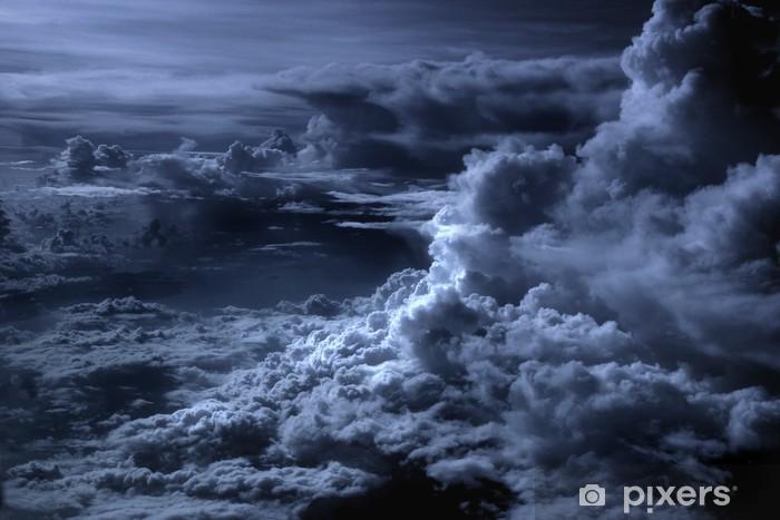 Vinilo Pixerstick Nubes azules - Temas