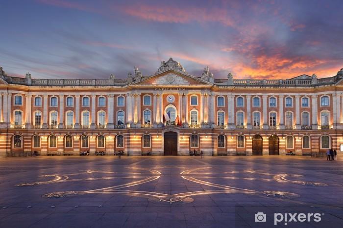 Papier Peint Autocollant Toulouse - Place du Capitole - Thèmes