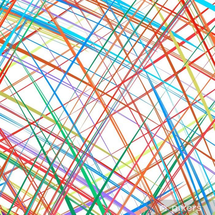 Fototapeta winylowa Kolorowe paski w tle abstrakcyjna - Tematy