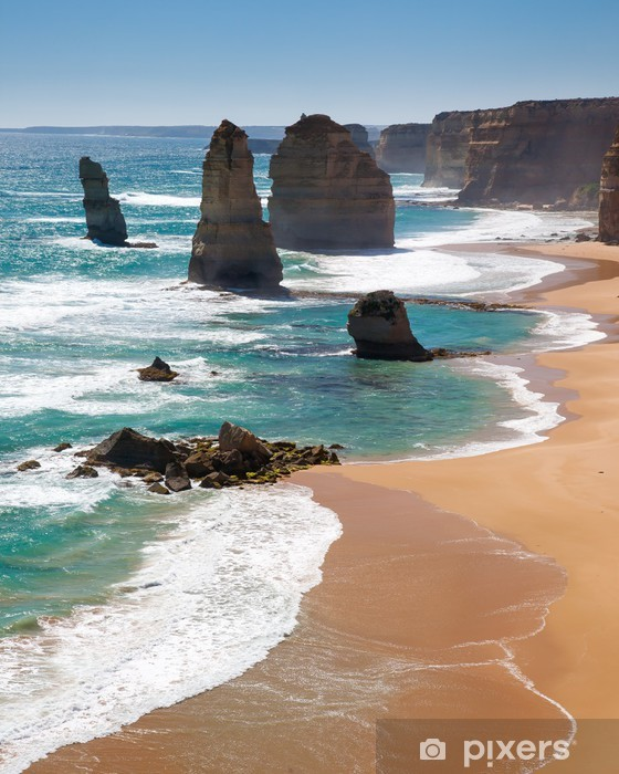 Twelve Apostles Australia Pixerstick Sticker - Themes