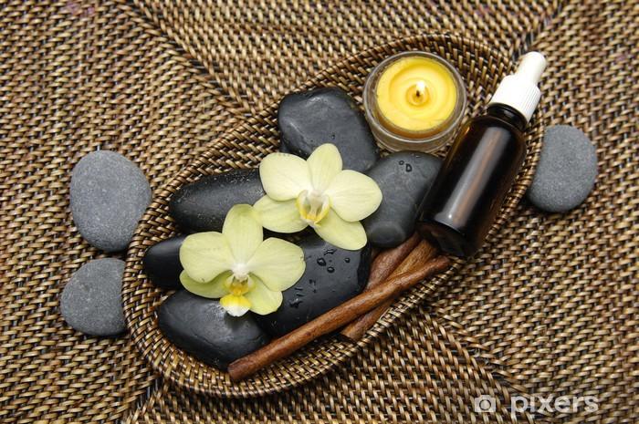 Sticker Pixerstick Spa produits de bien-être - Beauté et soins du corps