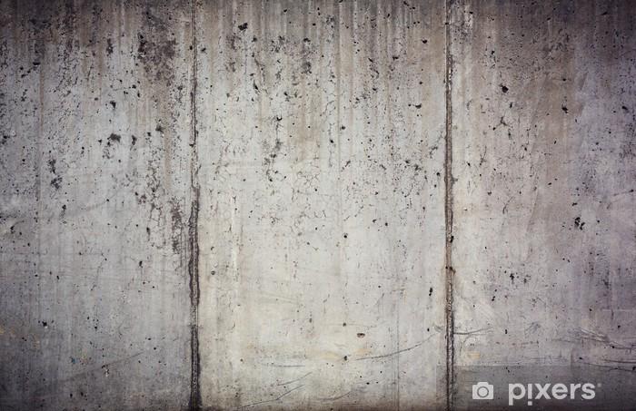 Fotomural Estándar Textura del antiguo muro de hormigón - Temas
