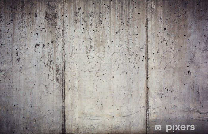 texture of the old concrete wall Vinyl Wall Mural - Themes