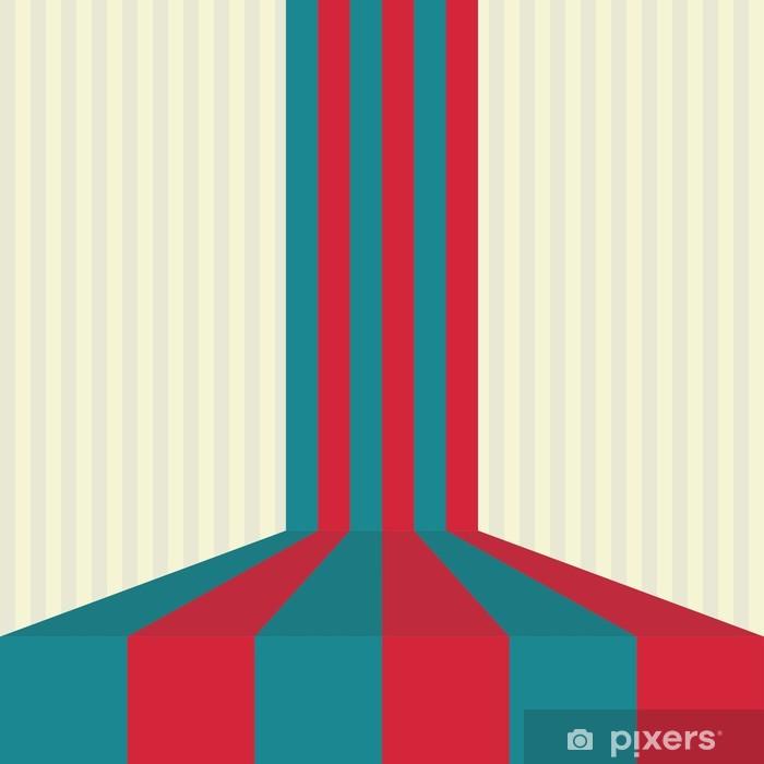 Plakat Streszczenie zielone tło z paskiem - Sprzedaż