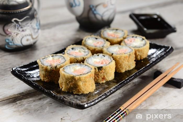 Papier peint vinyle Sushi chaud - Sushi