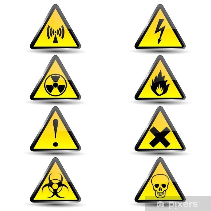 piktogramy znaki ostrzegawcze chemia