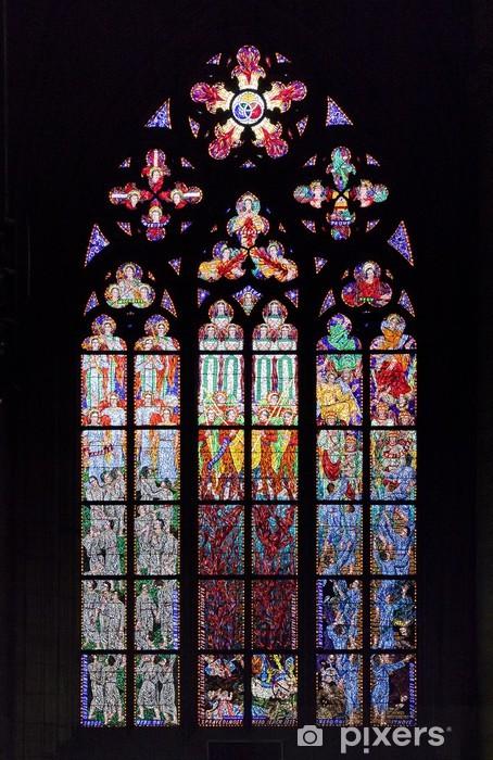 Fototapeta winylowa Witraże w st vit katedry, Praga - Miasta europejskie