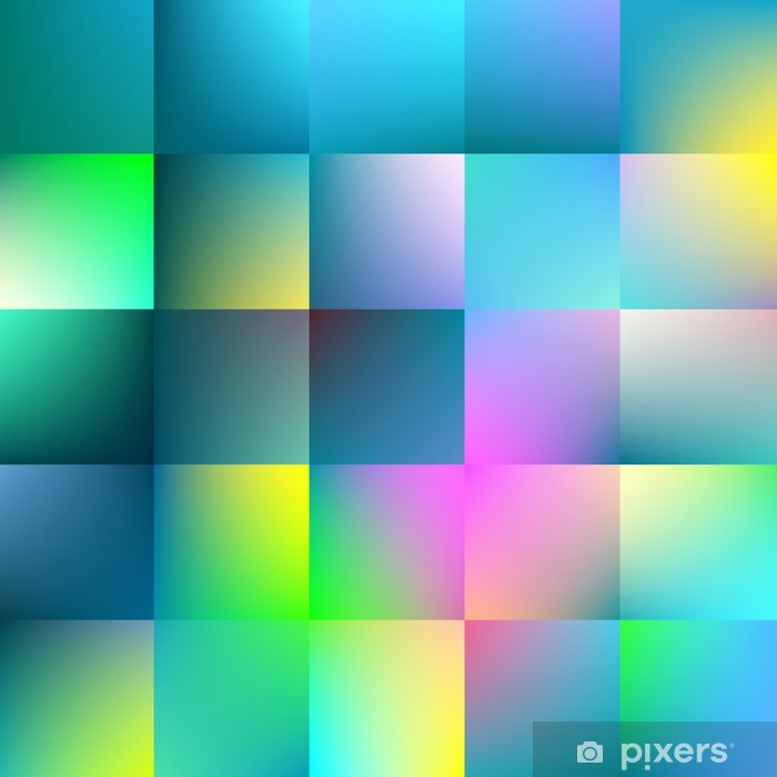 Naklejka Pixerstick Abstrakcyjna tła kwadratowych. - Wolność