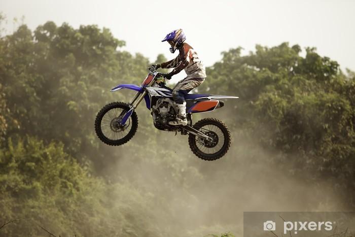 Fototapeta winylowa Motocoss - Sporty ekstremalne