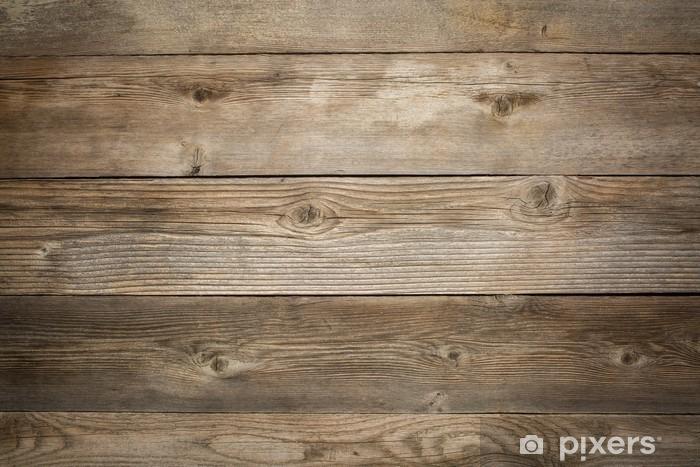 Fotomural Estándar Rústico madera de fondo degradado - Temas
