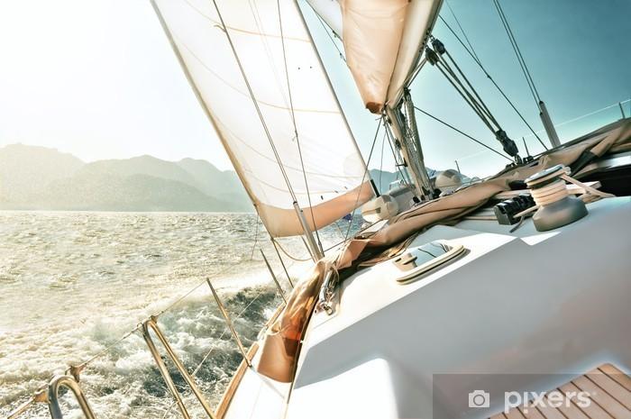 Sticker Pixerstick Yacht à voile - Destin