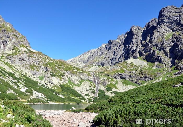 Papier peint vinyle Hautes Tatras montagnes et le lac, Slovaquie, Europe - Thèmes