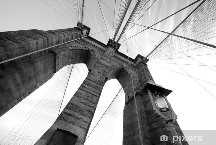 Fototapeta zmywalna Brooklyn Bridge szerokokątny 3 - Tematy