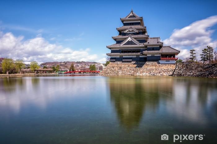 Sticker pour table et bureau château de matsumoto japon u2022 pixers