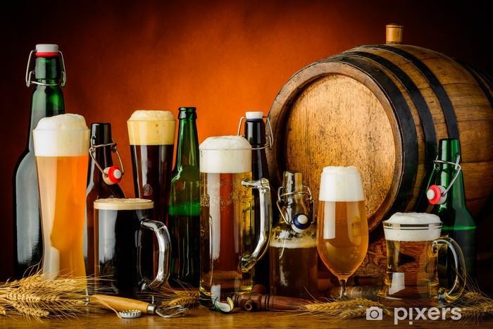 Fototapeta winylowa Napoje piwo - Alkohol