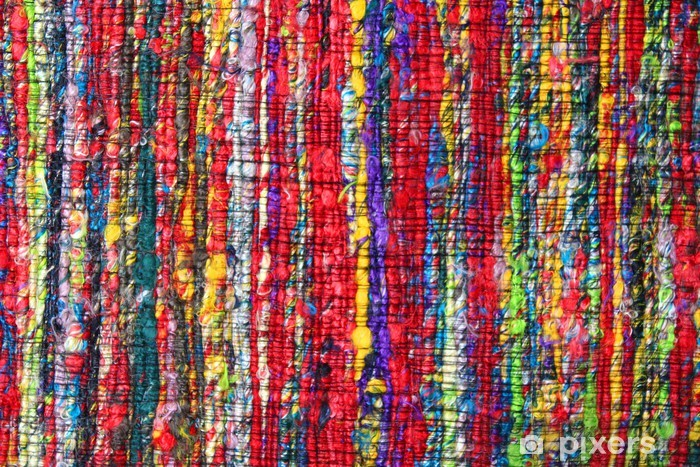 Tapis Indien Fibres Recycles Wall Mural Pixers We Live To
