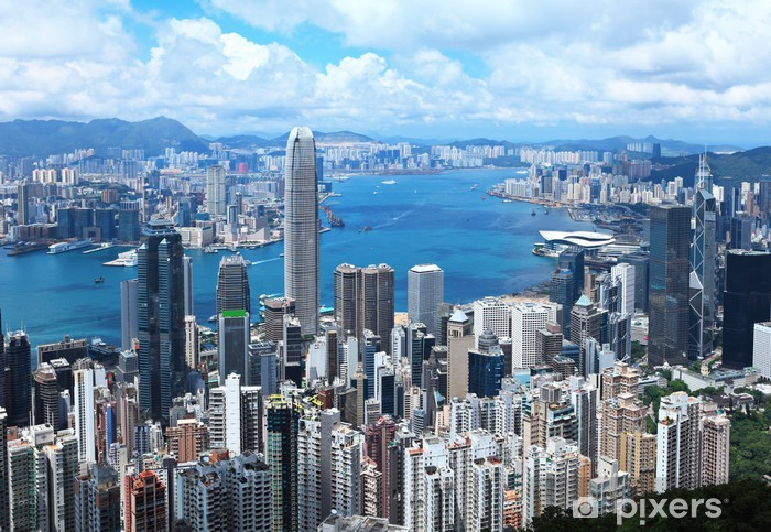 Papier peint vinyle Hong-Kong - Asie