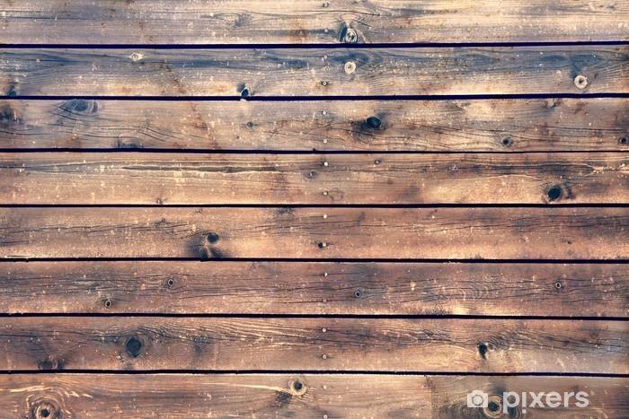 Papier peint vinyle Conseil planche en bois Panneau Fond marron, XXXL - Styles