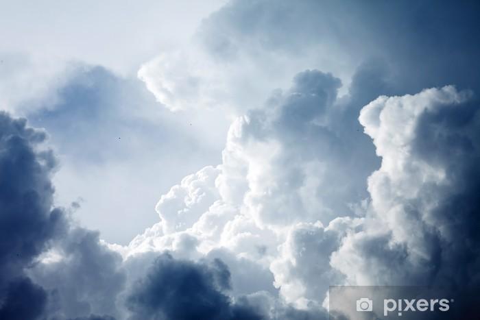 Dramatisk himmel med stormfulde skyer Vinyl fototapet - Himlen