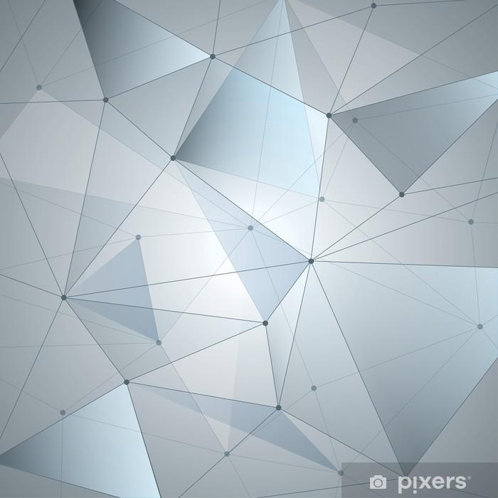 Vinilo Pixerstick Fondo abstracto, la geometría, las líneas y los puntos - Temas
