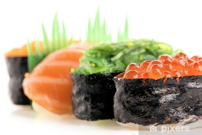 Papier peint vinyle Nigiri Sushi et Gunkan - Sushi