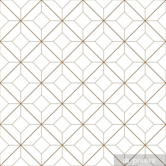 Geometric pattern Vinyl Wall Mural - Backgrounds