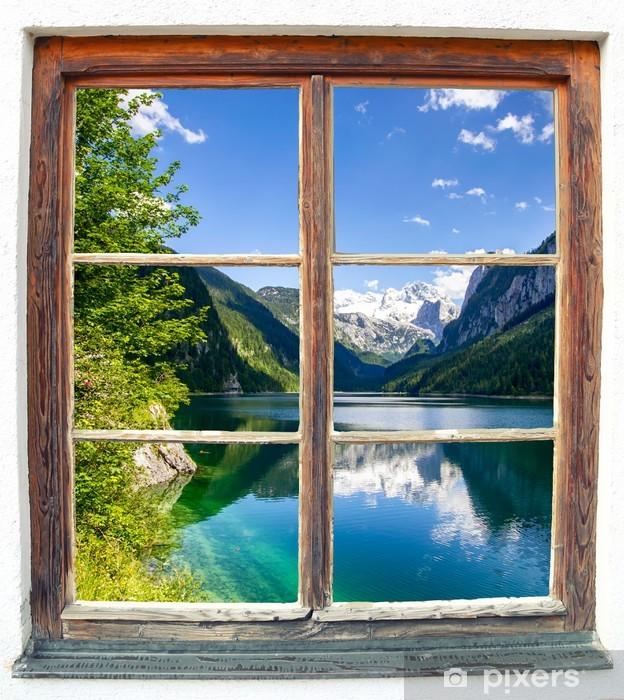 Fototapeta winylowa Fensterblick - Naklejki na ścianę