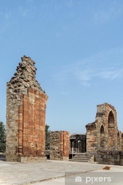 Fototapeta winylowa Qutub ruiny ceglanego łuku - Zabytki