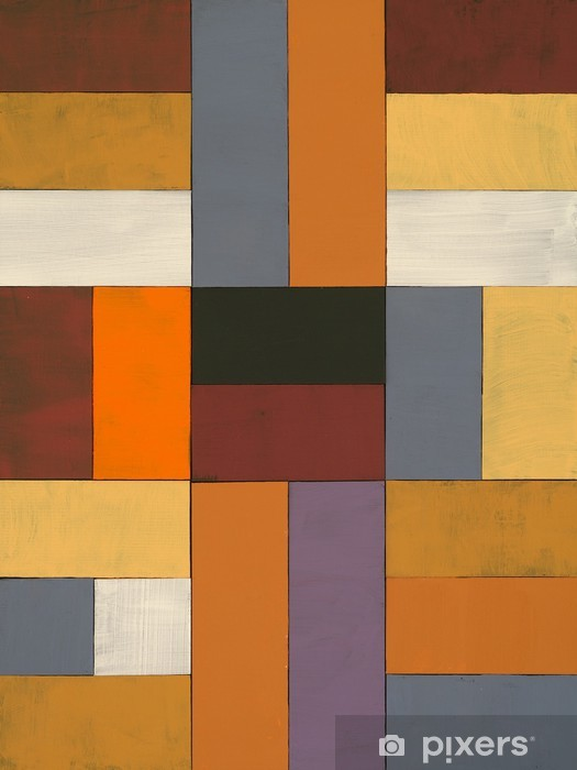 Fototapeta winylowa Abstrakcyjne malowane collage - Style