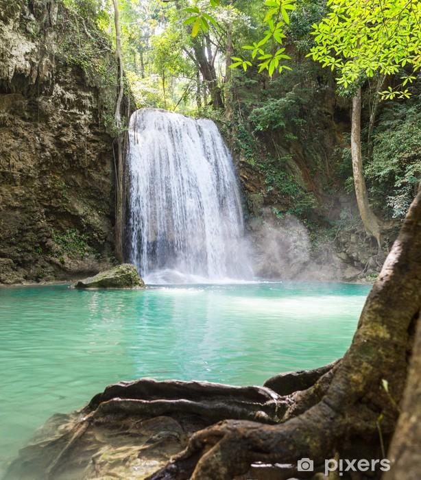 Fototapeta zmywalna Tropikalny Wodospad erawan - Tematy