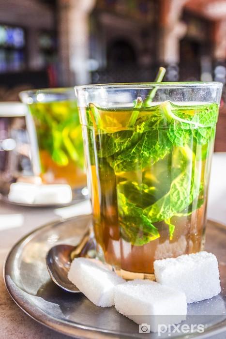 Fototapeta winylowa Marokańska herbata miętowa - Posiłki