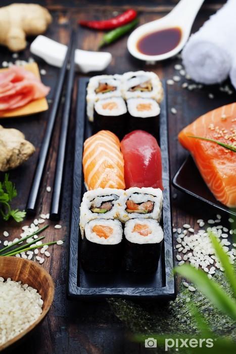 Fototapeta winylowa Sushi - Sushi